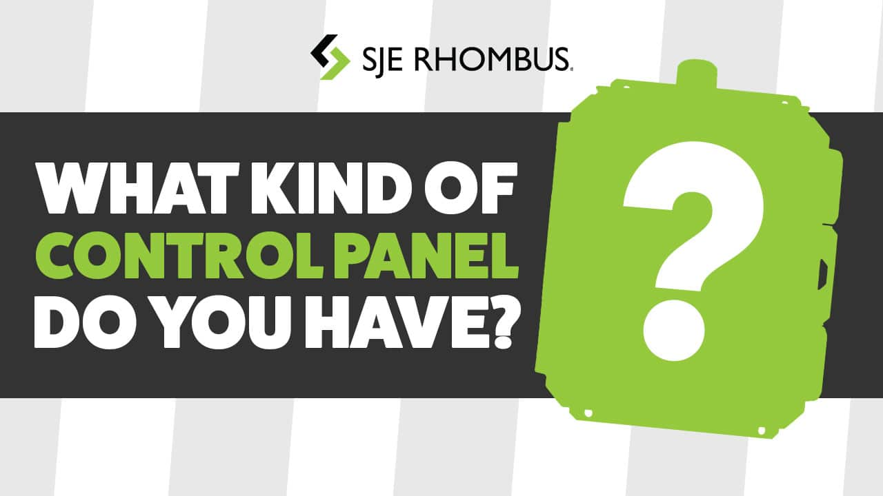 what kind of control panel do you have?
